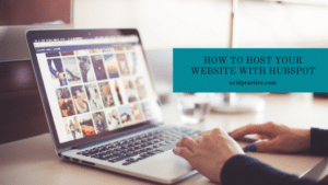 Host Website with Hubspot